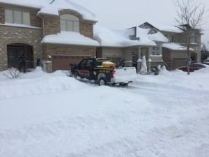 residential driveway snow removal