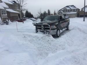 halton driveway plowing